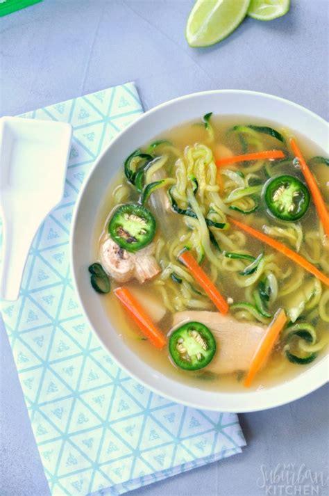 asian vegetable noodle soup my suburban kitchen