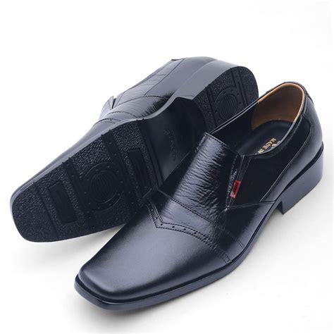 Sepatu Pantofel For sepatu pantofel pria sepatu kantoran kulit asli formal