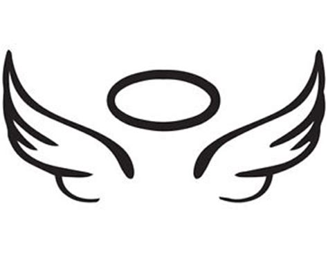Teal And Yellow Home Decor angel wing halo vinyl car decal diy project rip glass 5 x
