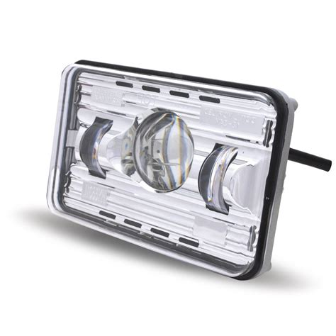 Led Projector Headl 4 Quot X 6 Quot Premium Led Projector Headlight Low Beam 2400 Lumens 4 Quot X 6 Quot Led Headlights