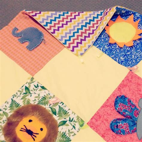 Handmade Baby Play Mat - 17 best images about tapis d eveil id 233 es de realisation on