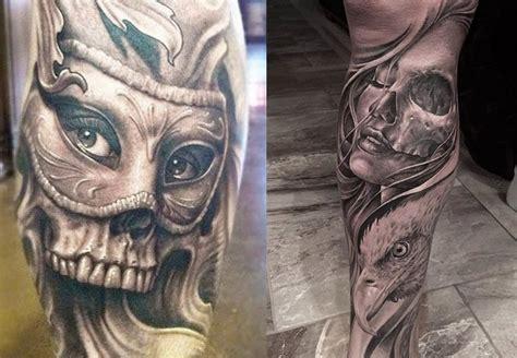 imagenes de calaveras besandose tatuajes de calaveras y craneos dise 241 os y significados