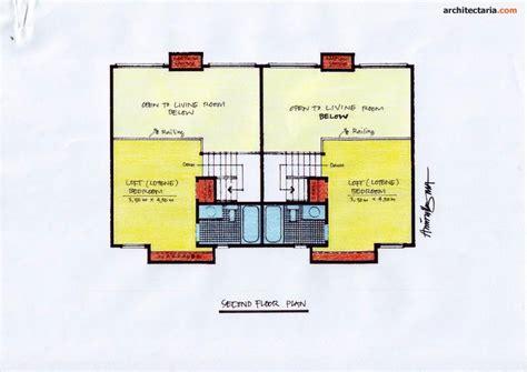 gambar sketsa rumah kontrakan gumpang
