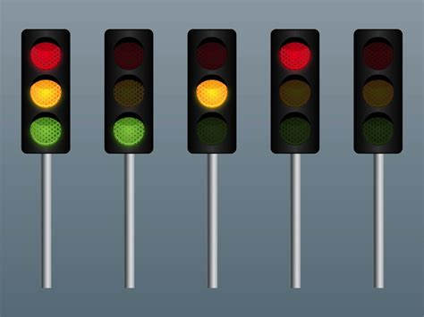 traffic lights stop light vector www pixshark com images galleries