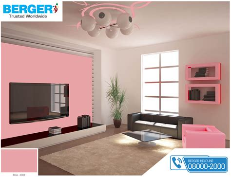 try attractive bliss color in your tv lounge berger paints paints paint color colour