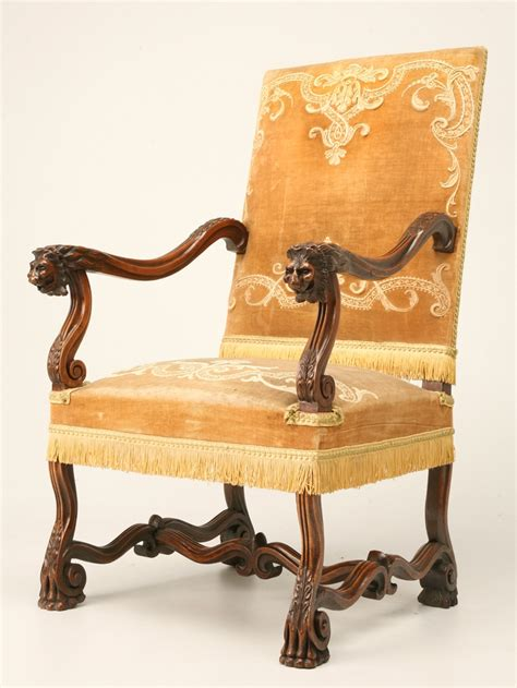 french furniture art french furniture is a trend to antique walnut throne chair in the louis xiii style