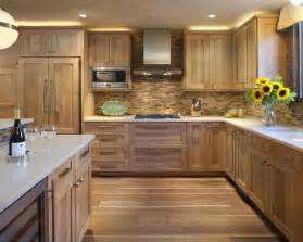 oak kitchen ideas oak cabinet backsplash home design ideas pictures