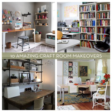 roundup  amazing craft room makeovers curbly