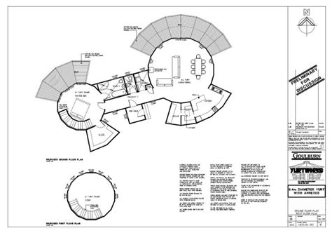 yurt floor plans interior yurt plan house plans pinterest yurts yurt house