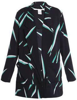 Clothes My Back 1222008 by Diane Furstenberg Barke Jacket 7 Stunning Printed
