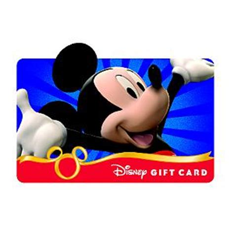 Walt Disney World Gift Card - walt disney world