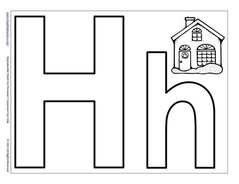 letter h coloring pages preschool 12 best images of printable letter h worksheets preschool