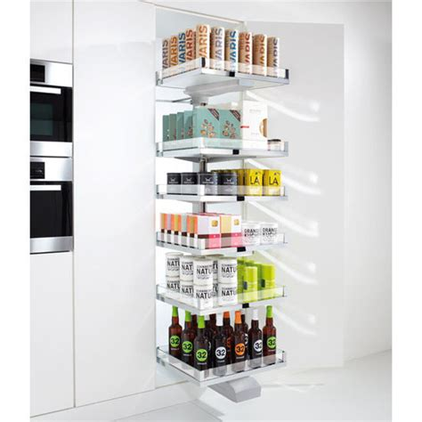 Hafele Pantry by Hafele Convoy Lavido Pantry Pull Out Featuring Soft Open