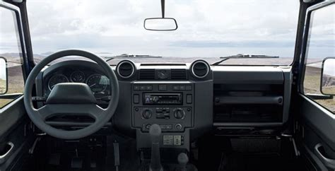 2015 land rover defender interior 2015 land rover defender review prices specs
