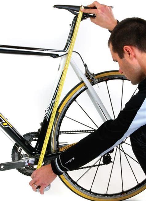 how to measure your bike road bike