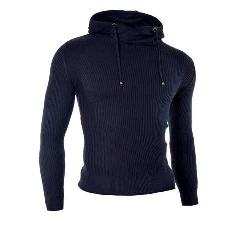 Hooded Knit Sweater hooded knit pattern sweater zip sweater