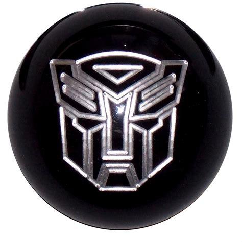 Decepticon Shift Knob by Transformers Autobot Black Silver Shift Knob