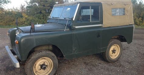landrover defender land rover series 2 1960 only