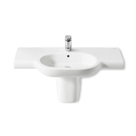 lavabos pedestal lavabo pedestal semipedestal meridian 850x460 roca