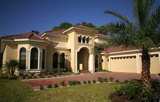Mediterranean Home mediterranean home style with yellow wall paint color ideas home