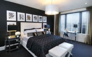 Black Bedroom Wall How To Decorate A Bedroom With Black Walls