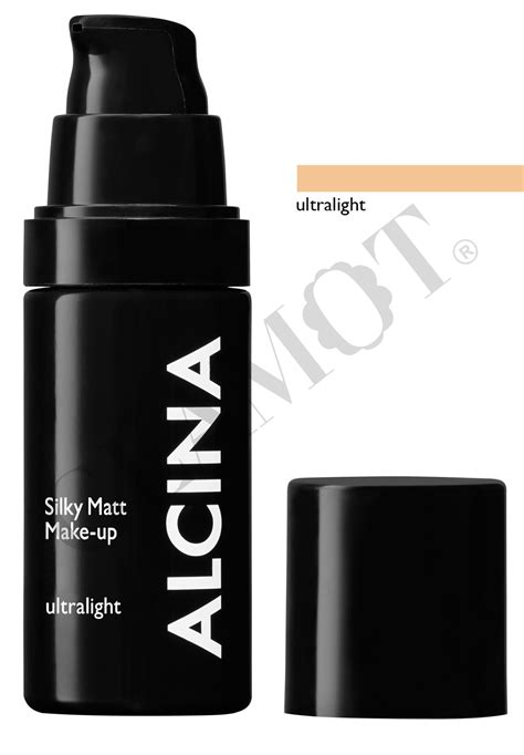 Silky Makeup alcina silky matt make up glamot de