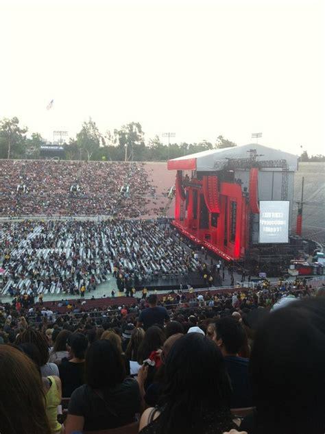rose bowl section 20 l rose bowl stadium section 20 concert seating