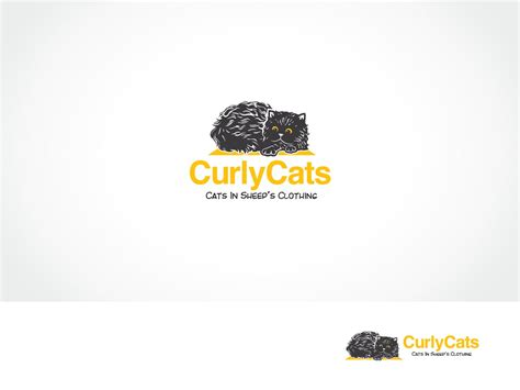 designcrowd pty serious professional clothing logo design for curlycats