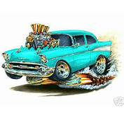 1957 Chevy 210 Cartoon  Silvester Humaj Flickr
