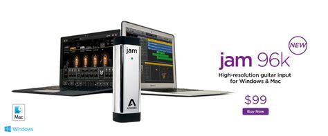 Jam Iphone Digital jam guitar interface for mac apogee electronics