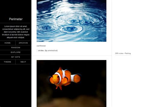 themes tumblr links gallery tumblr themes with sidebar and links