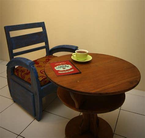 Jual Meja Pingpong Bekas Yogyakarta membangun kedai kopi dari barang bekas hijauku