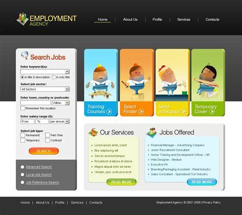 Job Portal Website Template 17624 Portal Site Template