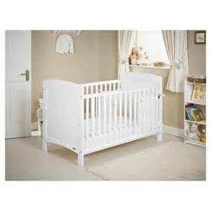 Tesco Nursery Bedding Sets Buy Obaby Grace Cot Bed Bundle White White From Our Cot Beds Range Tesco