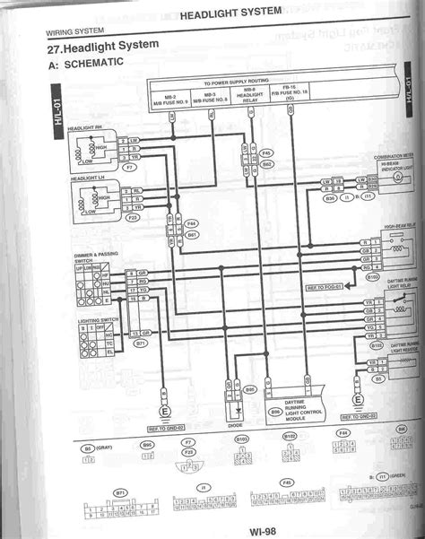 2006 subaru outback wiring diagrams 2006 free engine