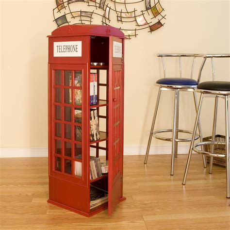 phone booth bookcase phone booth cabinet noveltystreet