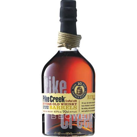 22 ac creek shop pike creek 0 7 l whisky aus kanada g 252 nstig kaufen bei