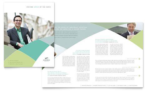 Financial Advisor Brochure Template Word Publisher 11x17 Tri Fold Brochure Template Publisher