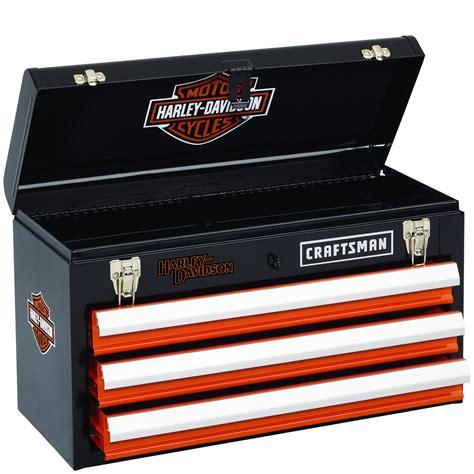 craftsman tool box craftsman harley davidson portable tool storage chest box toolbox ebay