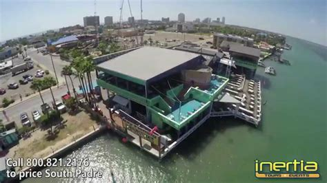 louie s backyard spi south padre island louie s backyard aerial tour youtube