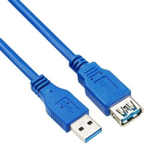 Kabel Usb 3 0 Extender 1 5m kabel ekstensi usb 3 0 ke 1 5m blue