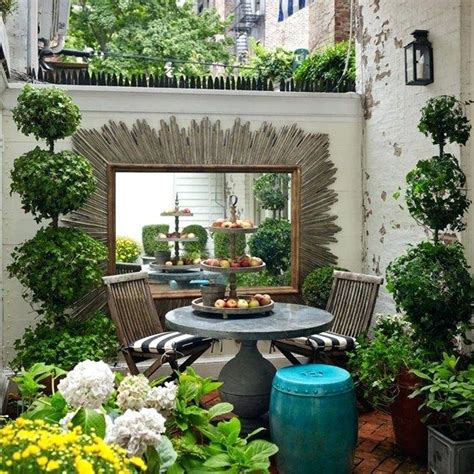 decorar tu patio small courtyard garden ideas small front entry courtyard