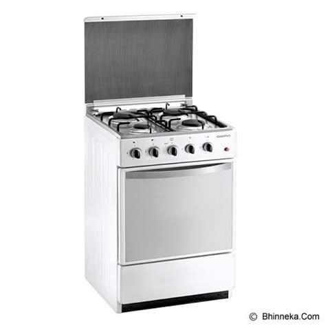 Kompor Gas Free Standing Italina jual domo freestanding cooker dg 5405 sw murah