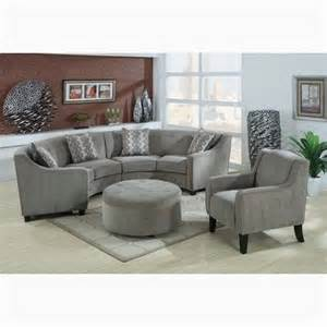Small Sectional Sofas Reviews: Small Curved Sectional Sofa