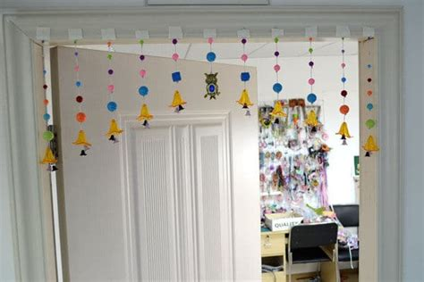 how to make bead curtains how to make beaded curtain simple craft ideas