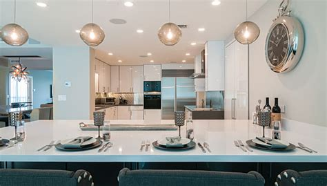 Contemporary Countertops quartz and white marble remain growing trends of kitchen