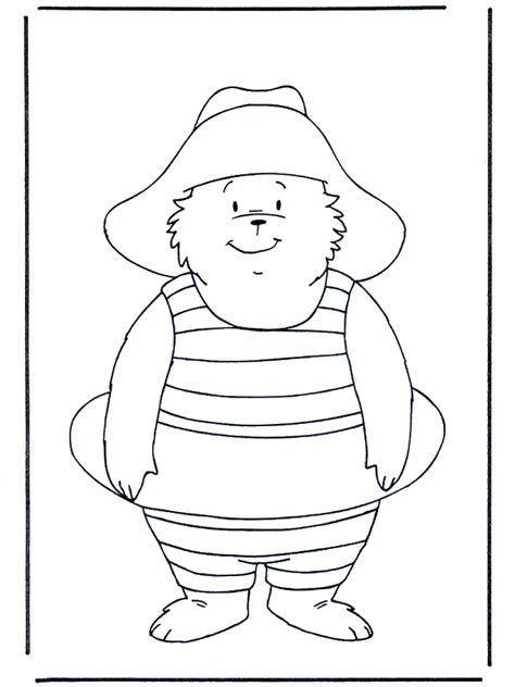 free coloring pages paddington bear paddington bear