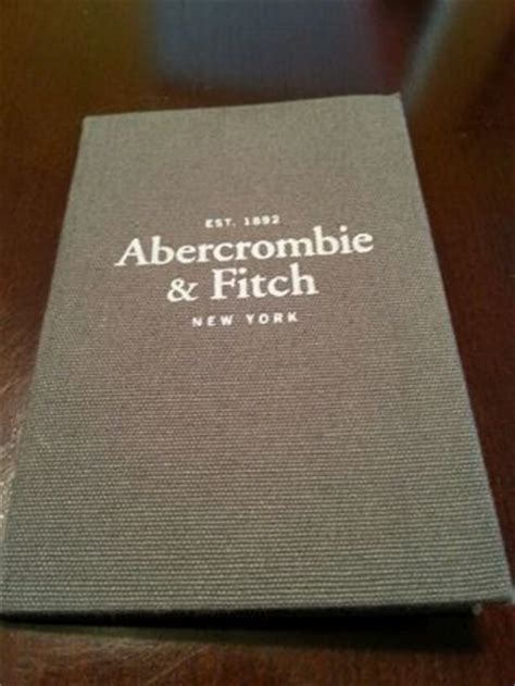 Abercrombie And Fitch Gift Card - free abercrombie and fitch a f grey gray gift card holder no gift card gift