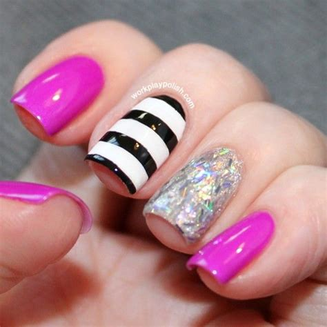 Nail Strips With Designs nail designs with stripes