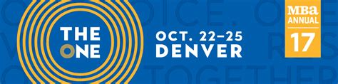 Mba Convention Denver by Precedent Management News And Articles